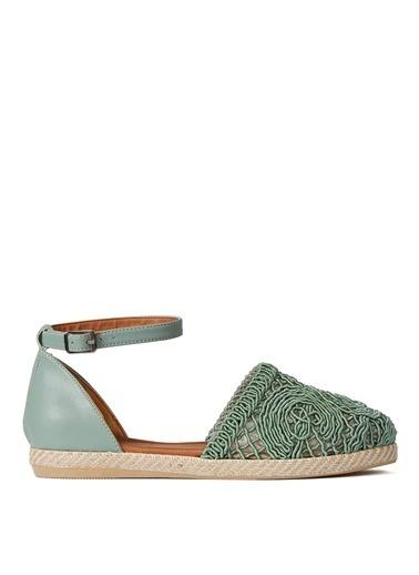 Sole Sisters Sandalet Yeşil